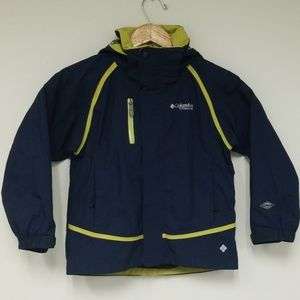 Columbia Titanium Bugaboo Winter Coat Boys Size 8